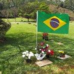 Ayrton Senna's grave