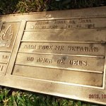 Ayrton Senna's plaque