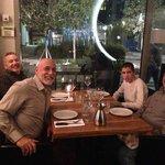 dinner at Hudson