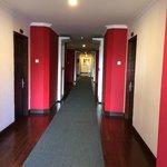 Third floor corridor.