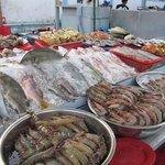 More seafood on display