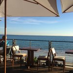 The scenic view from the terrace at Nobu Malibu