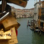 View of Grand Canal from Accademia bridge