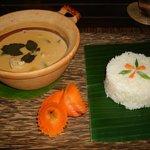 L'excellent curry aux fruits de mer aux épices khmers