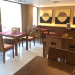 Cafe lounge offering all day tea coffee and snacks at no cost