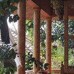 """View at the balkon of """"durga"""""""