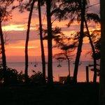 un tramonto speciale che capita raramente