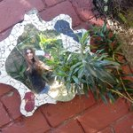 decoración del jardín