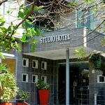 Entrance to Studio Hotel