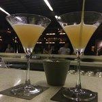 Tom Yum martinis as Happy hour