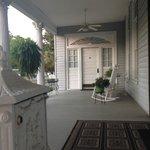 Large wrap-around porch