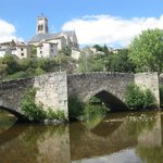 The nearby town of Bellac with its magnificent medieval bridge and beautiful church