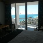My hotel room at Grand Lucayan.