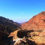 Wadi Dana Feynanまでの1本道