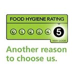 We are proud of our 5 Star Hygiene Award