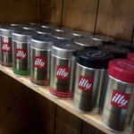 Illy coffee selection