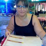 My wife Alia