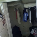 closet and chest of drawers