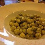 Homemade pesto gnocchi- can't miss!