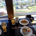 Breakfast with a few