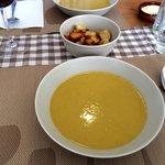 Pumpkin leek & potato soup