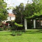 Gartenbereich des Guesthouses