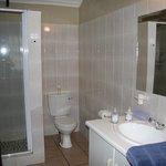 Badbereich Lavender-Room