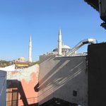 Hagia Sofia view from balcony room 407