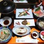 松本旅館03夕食