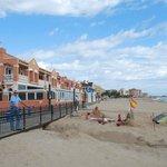 Отель и пляж