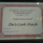People's Choice Award for Delectable Dessert-Pecan Pie
