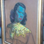 Tretchikoff's 'Chinese Girl' bought by Graff for $1.5m is on display