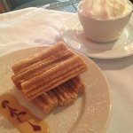 Churros and Ice Cream at Guajillo Grill