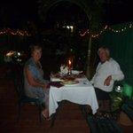 diner du tio sur la terrasse