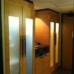 Beautiful, lighted closets