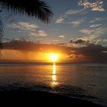 Beachbar Sonnenuntergang
