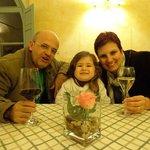 Gabriel, Helena e eu.