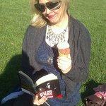 reading in Kennington Park