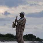 Sunset Beach Sax