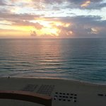 A.M. view from our room balcony