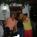 Me with Tsambika and George