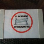 """One of the many """"DO NOT"""" signs."""