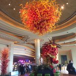 Lobby with Chinese New Year decor