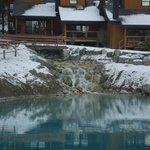 Water ponds year round