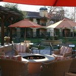 Visit the fire pit after dinner!