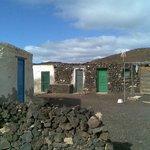 Isla de Lobos old houses