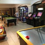 hotel games area