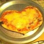 Pizza St Valentin!