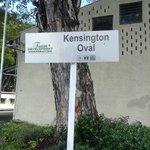 Kensigton Oval Sign Board