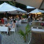Sunset drink at Cenang beach